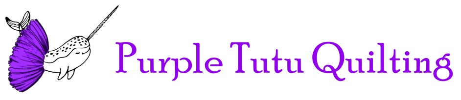 Purple Tutu Quilting